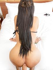 String Bikini Sex Doll Bareback