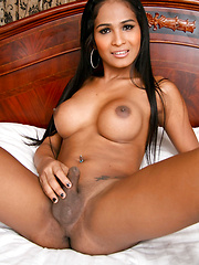Incredible ladyboy babe with hottest round tits