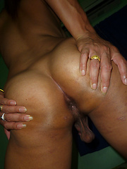 Thai shemale sweet cock
