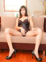 See sexy young ladyboy take virgin pounding