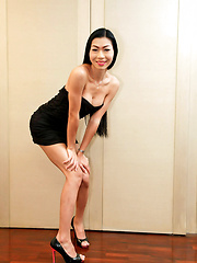 Totally fuckable tall slim ladyboy jerks