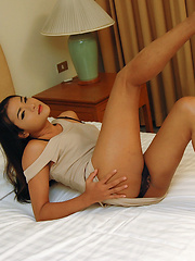 This young sweet ladyboy soon got dirty