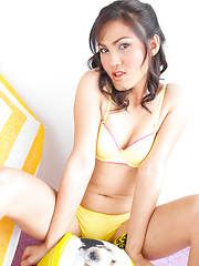 Bright Yellow Panties