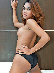 Young, cute ladyboy lover to shoot spunk