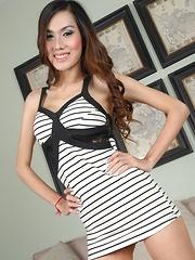 Busty Asian Transsexual Aye Bareback