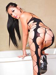 Erika Fox: Fishnet & Heels