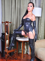 Erika Fox: Latex Ladyboy