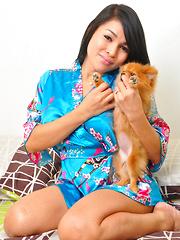 Vitress Tamayo: Kimono Puppy 1
