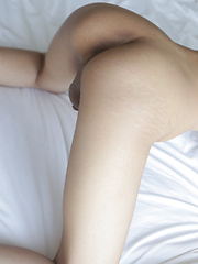 19 year old petite and shy Thai ladyboy striptease